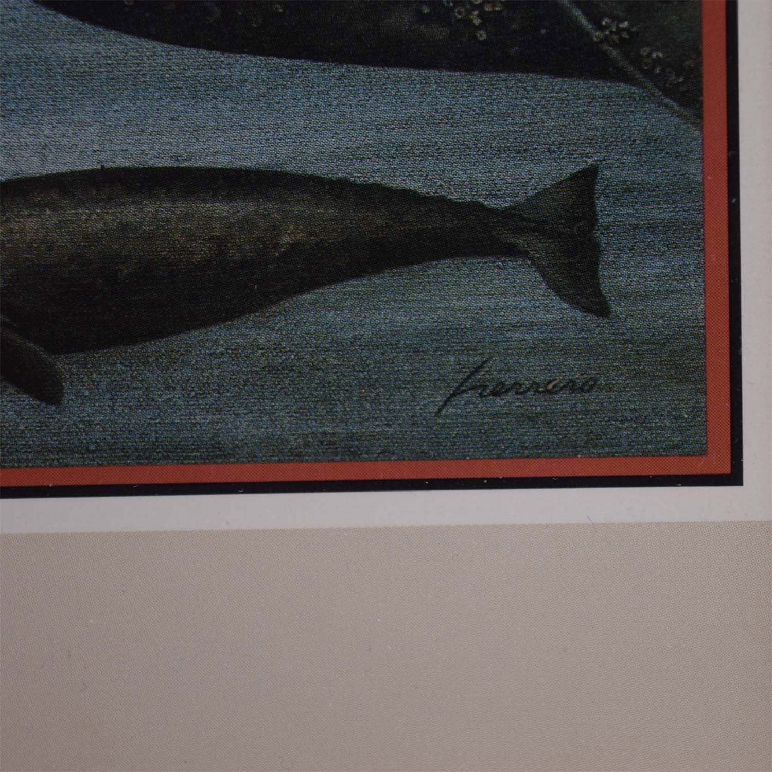 Portal Productions, Ltd. Portal Productions Gray Whales Lithograph nyc
