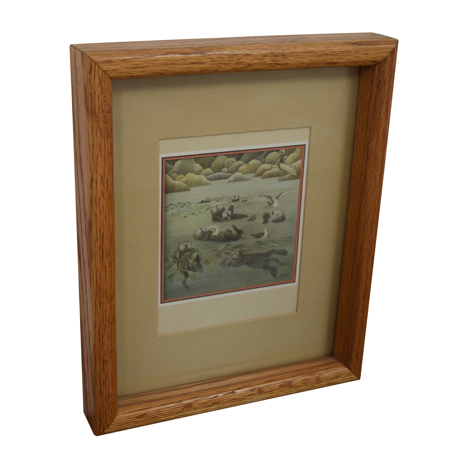 Portal Productions, Ltd. Portal Productions California Sea Otters Lithograph nj