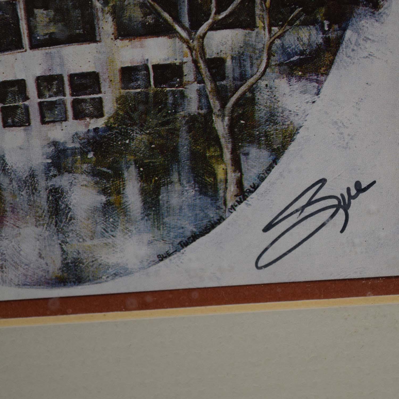 shop Portal Productions, Ltd Sue Tushingam McNarys Hotel Del Coronado Lithograph Portal Productions, Ltd Wall Art