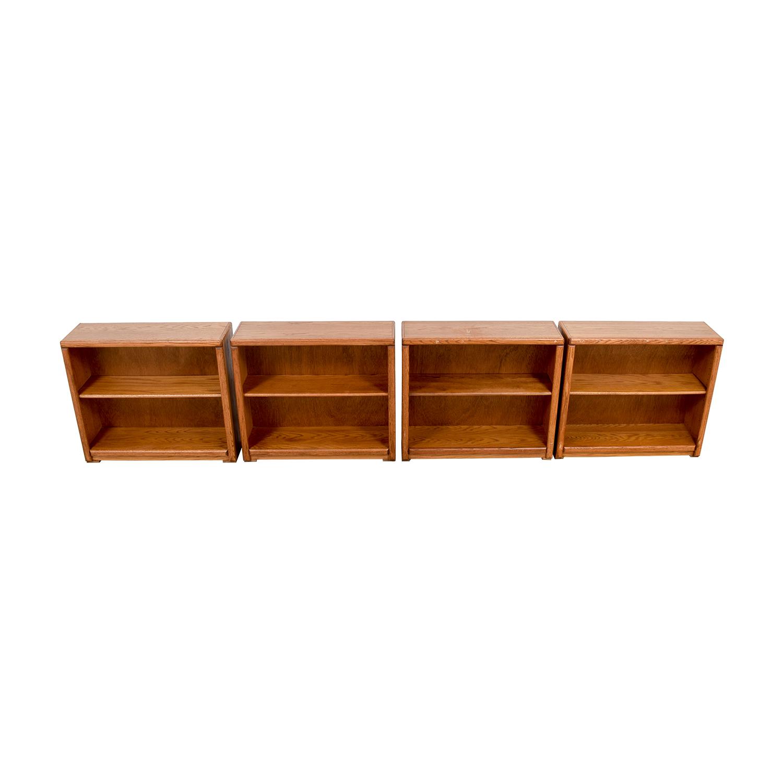 Aspen Home Two-Shelf Book Shelves / Storage