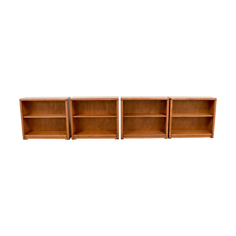 Aspen Home Aspen Home Two-Shelf Book Shelves second hand
