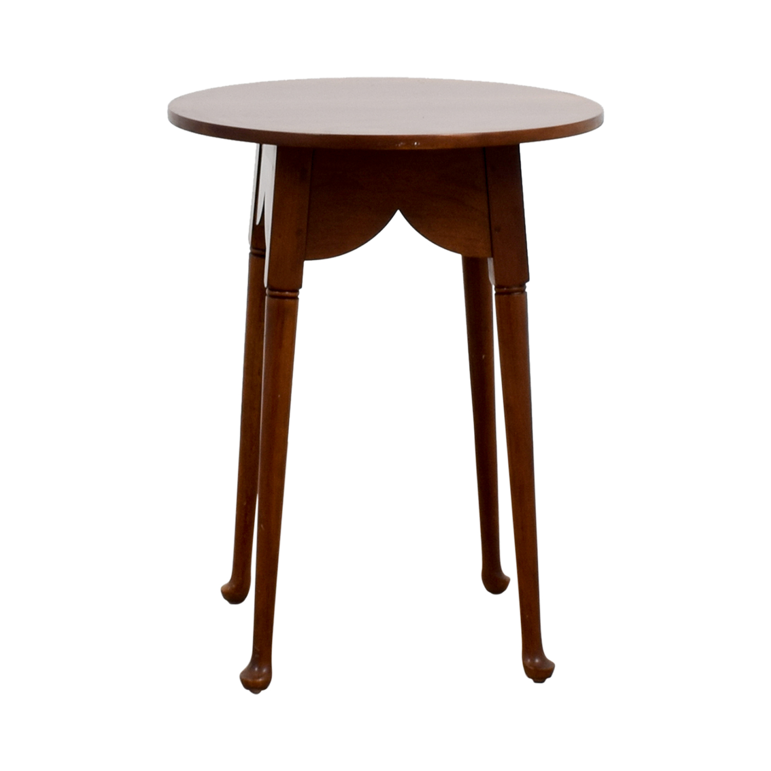 Stickley Stickley Round Dove Tailed Accent Table for sale
