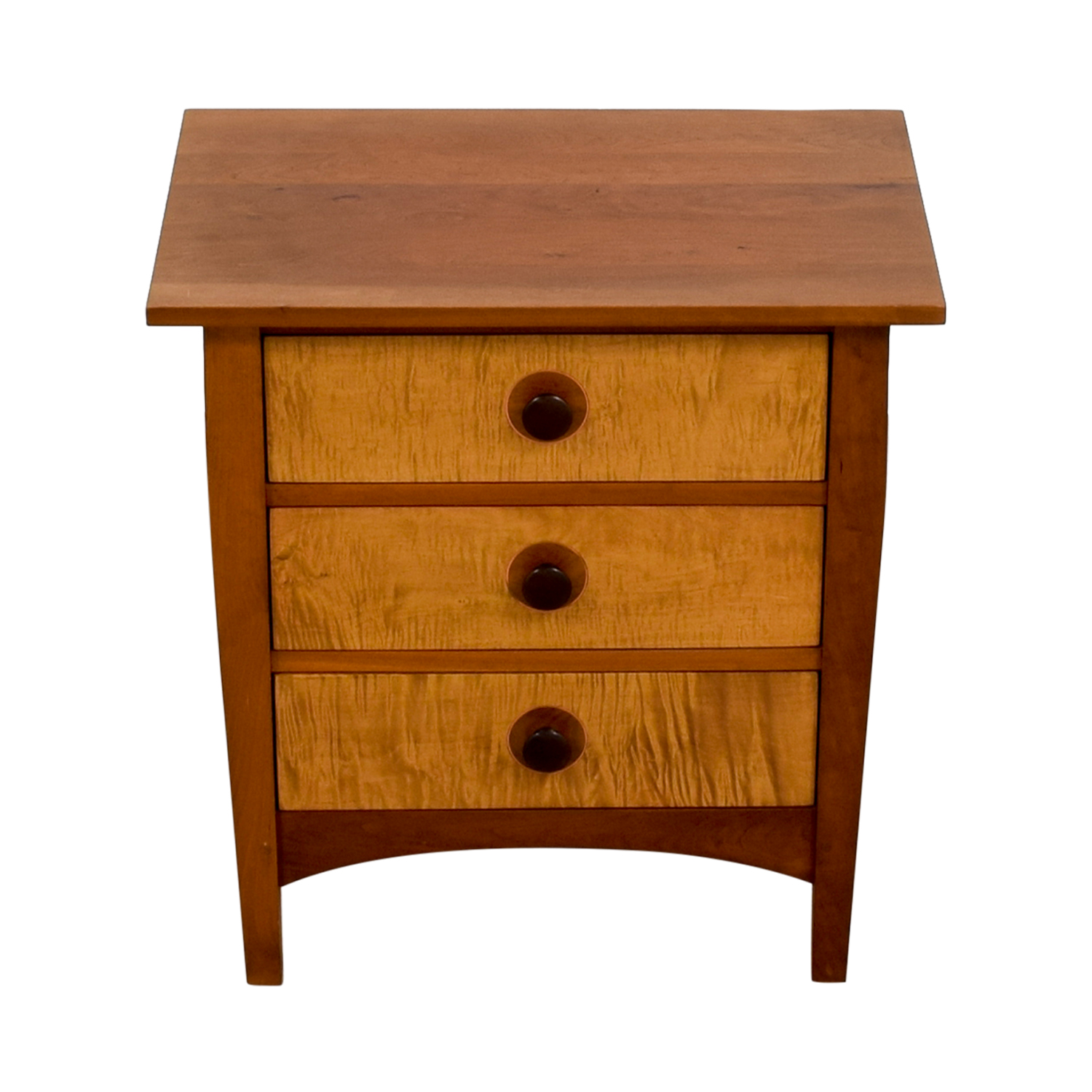 Stickley Stickley Three-Drawer Night Stand Brown