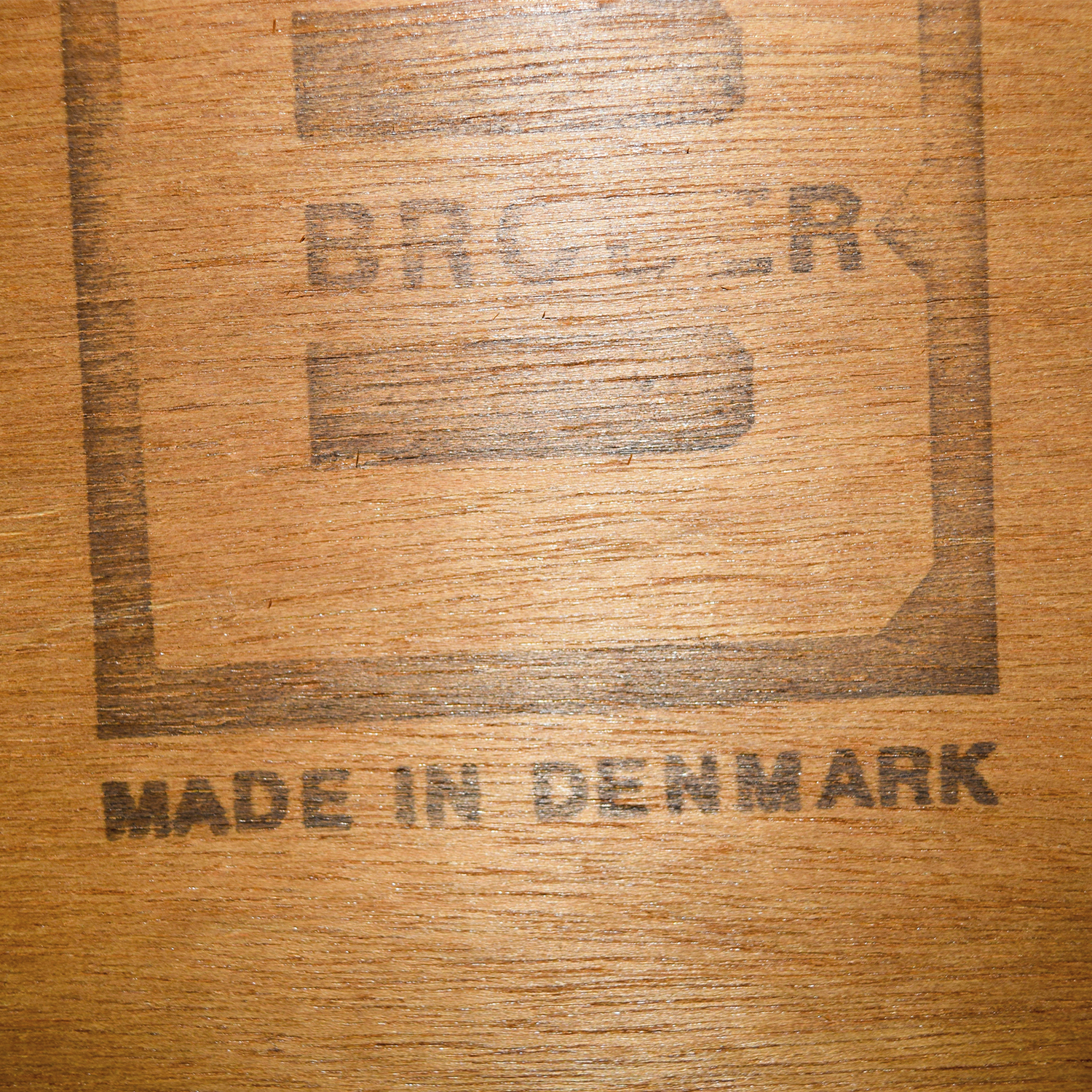 buy Brouer Møbelfabrik from Denmark Three-Drawer Dresser Brouer Møbelfabrik