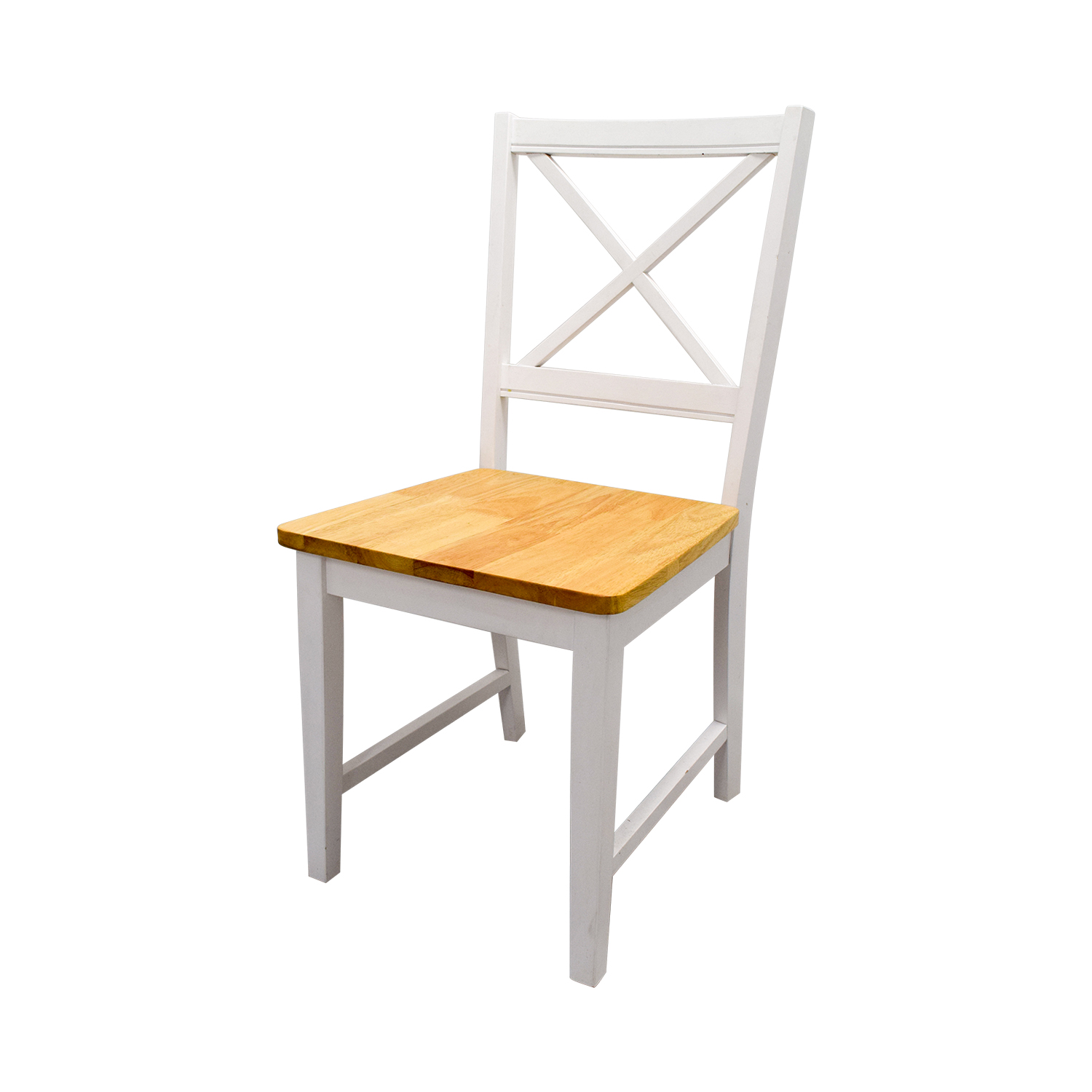 Beech Wood and White Dining Set price