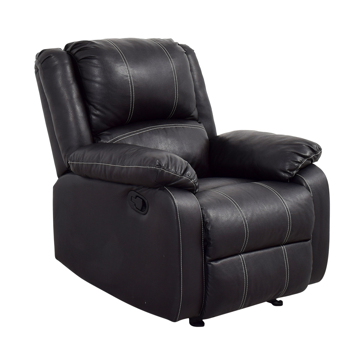 Acme Acme Black Leather Recliner second hand
