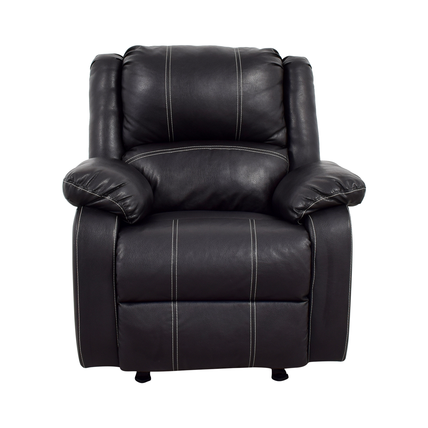 Acme Black Leather Recliner Acme