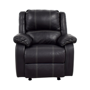 Acme Acme Black Leather Recliner discount