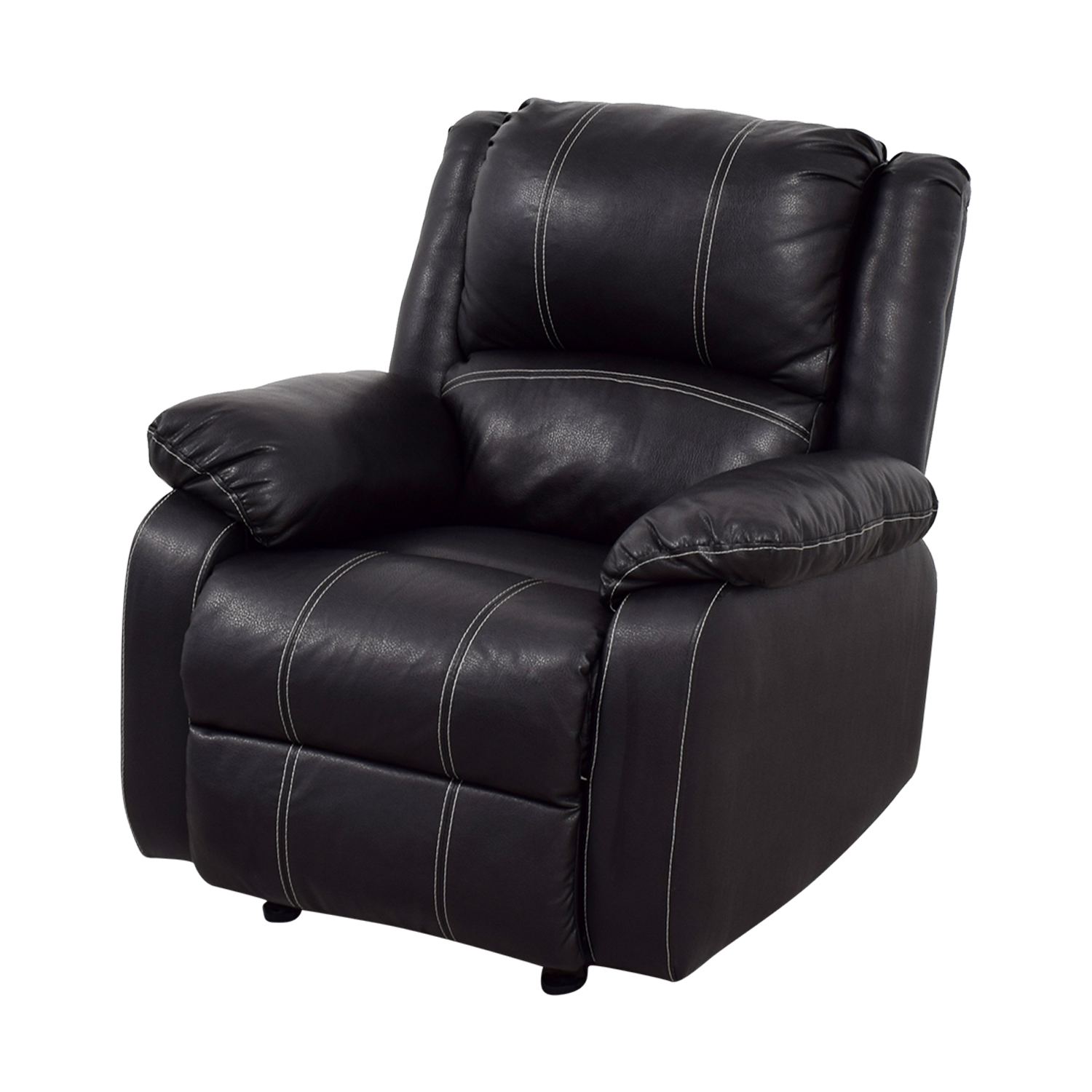 Acme Black Leather Recliner / Chairs