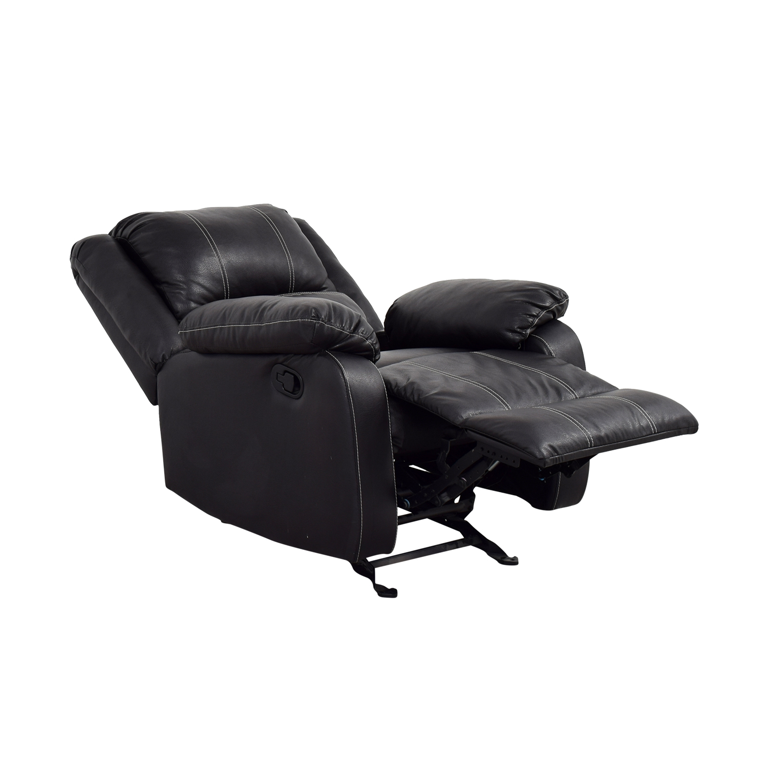 Acme Acme Black Leather Recliner nj