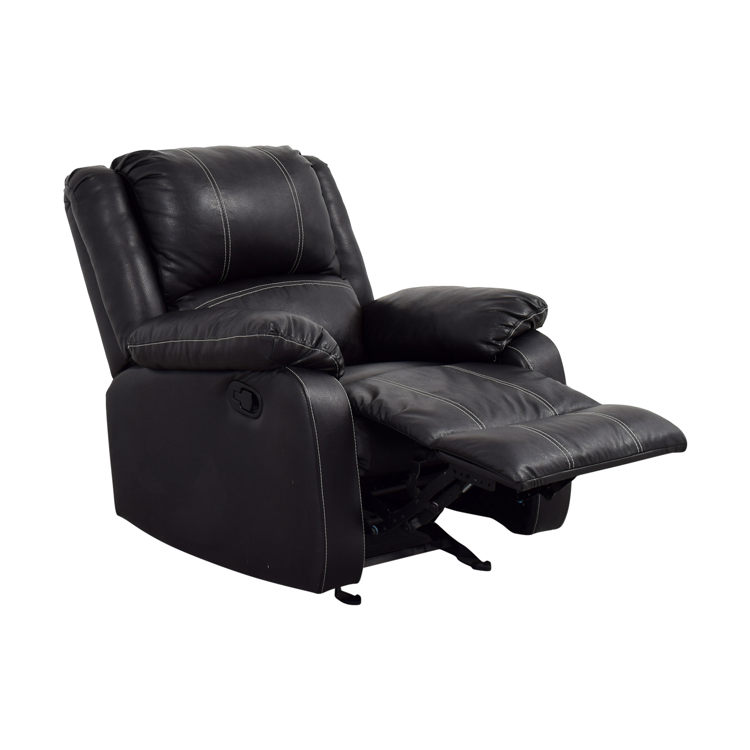 Acme Acme Black Leather Recliner Chairs