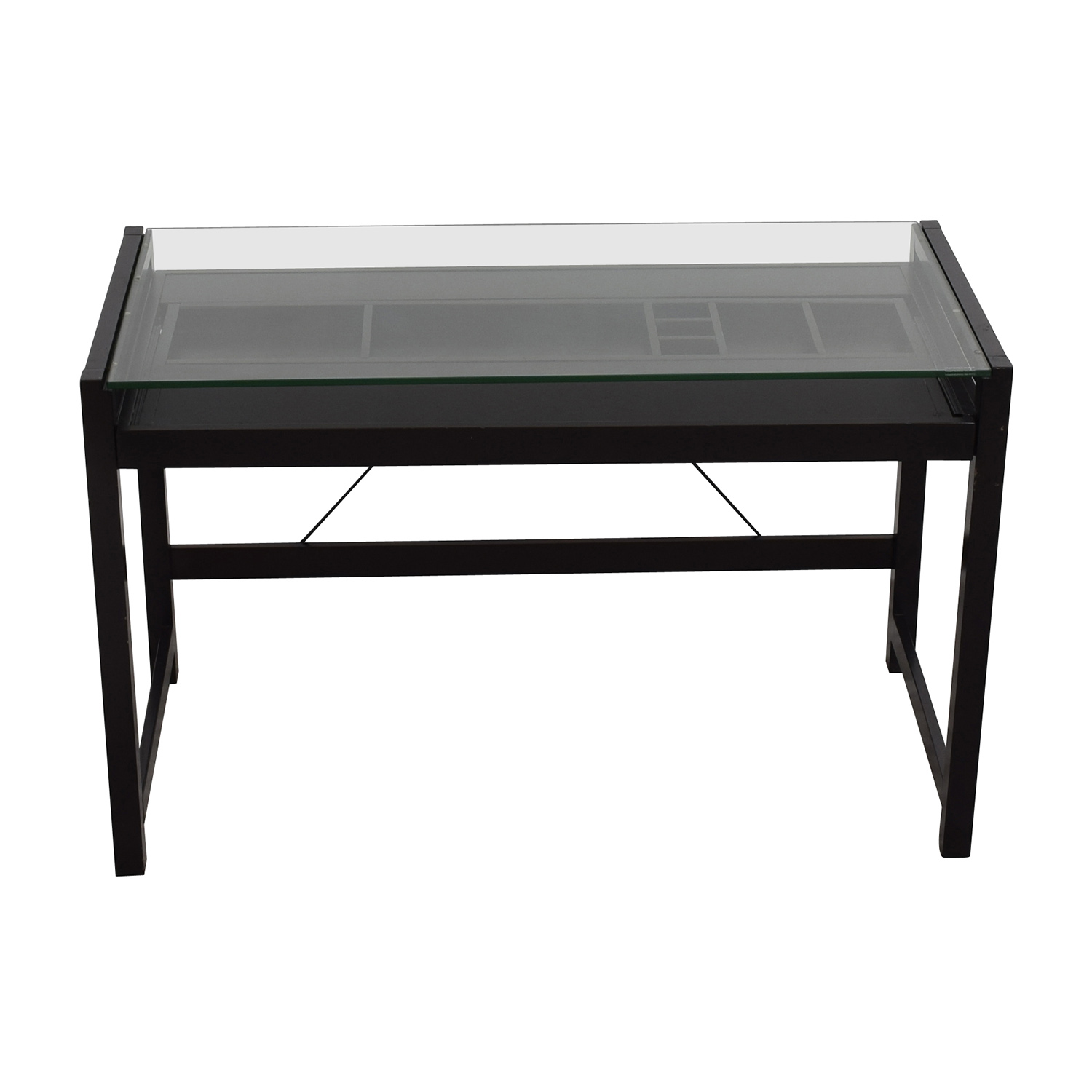 Acme Acme Loakim Glass Top Computer Desk on sale