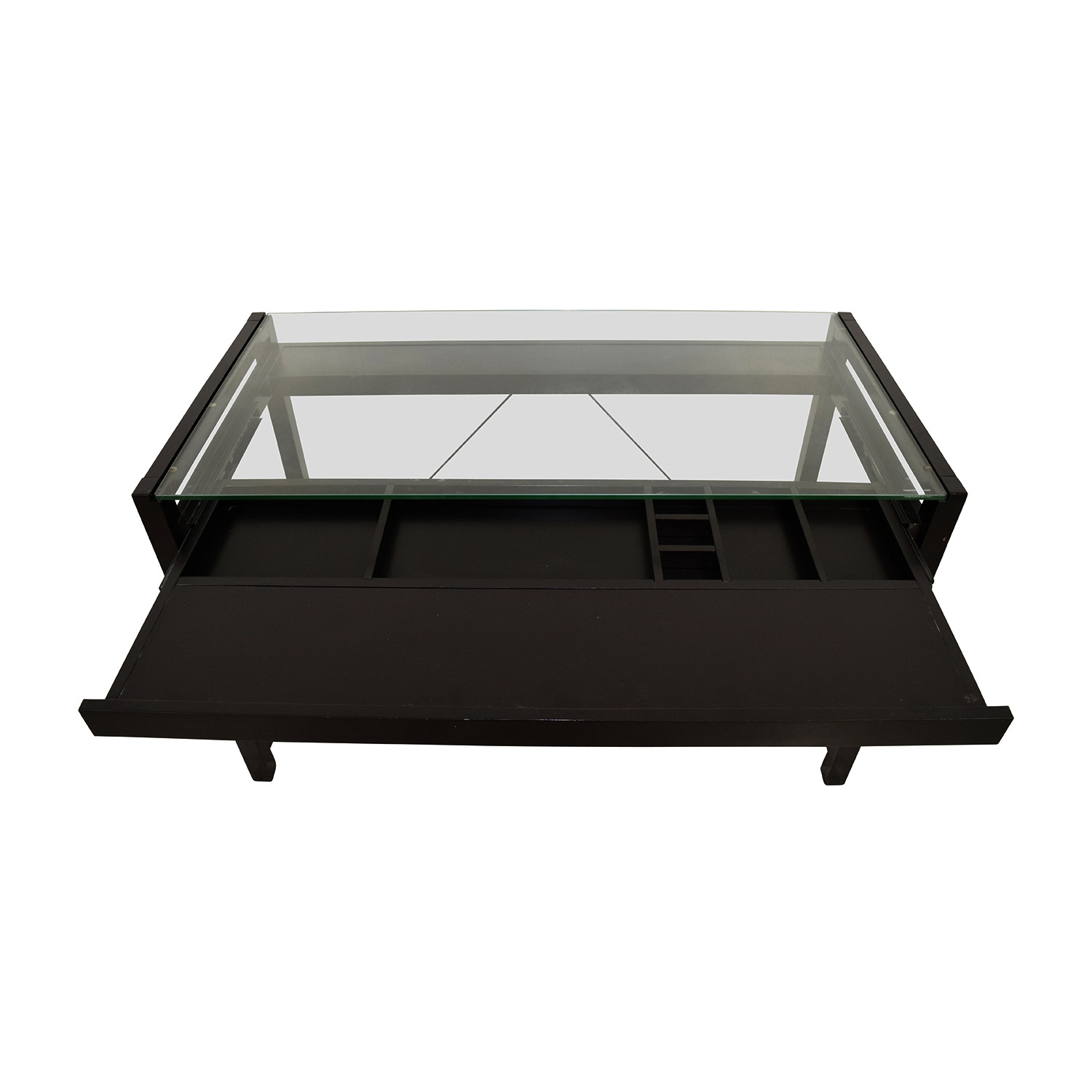 buy Acme Loakim Glass Top Computer Desk Acme Tables