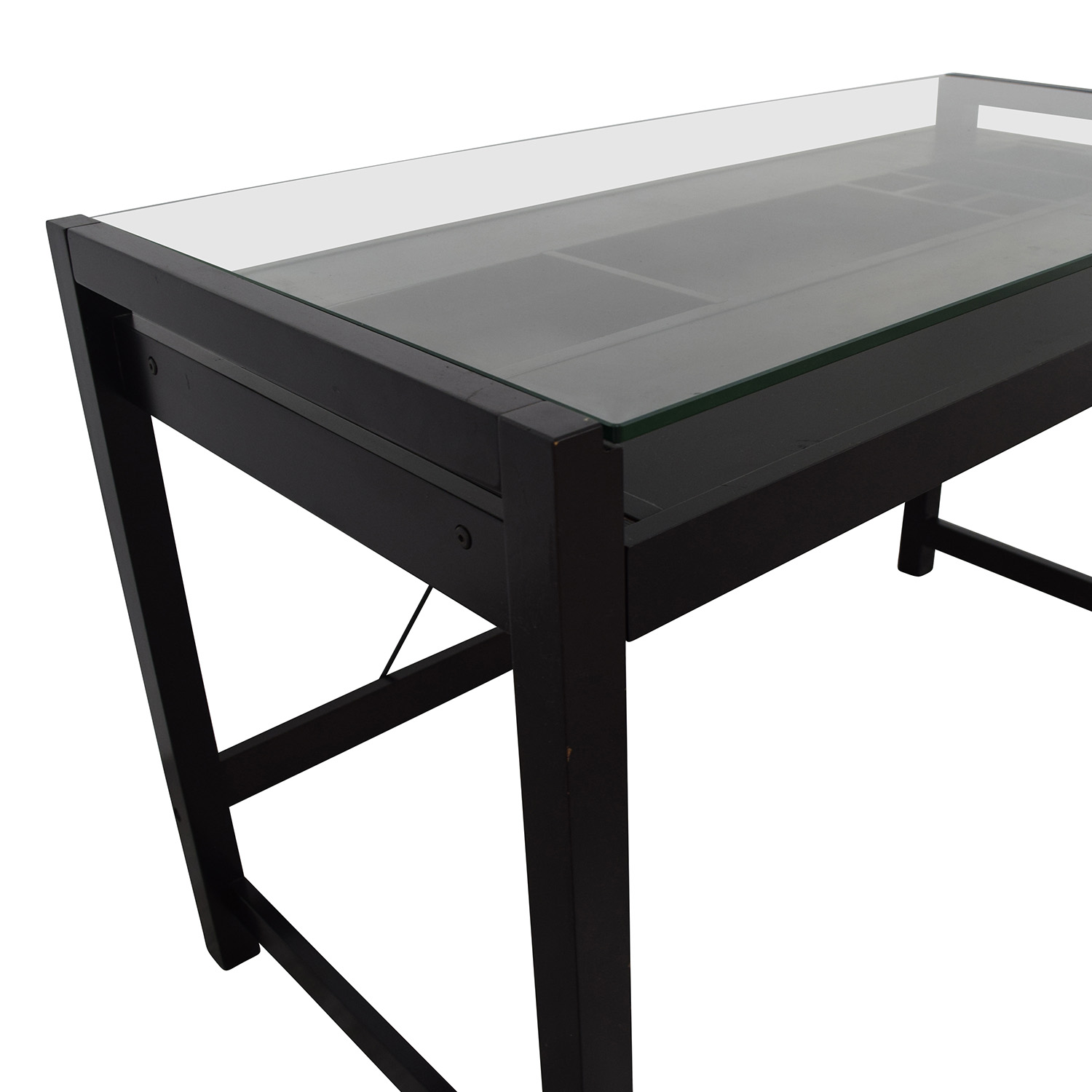 Acme Acme Loakim Glass Top Computer Desk price