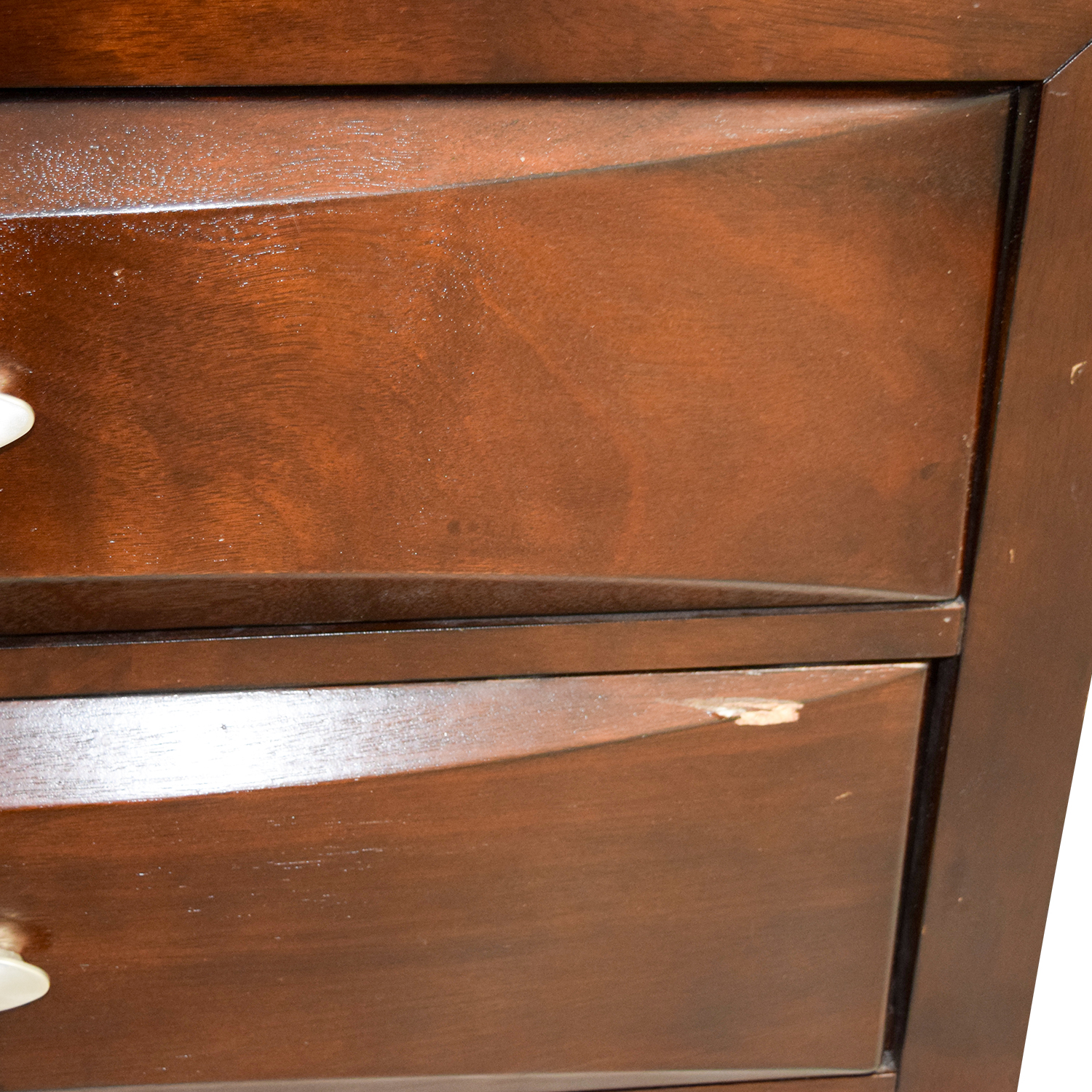 Acme Acme Louis Philippe III Cherry Queen Drawer and Bookcase Bed discount