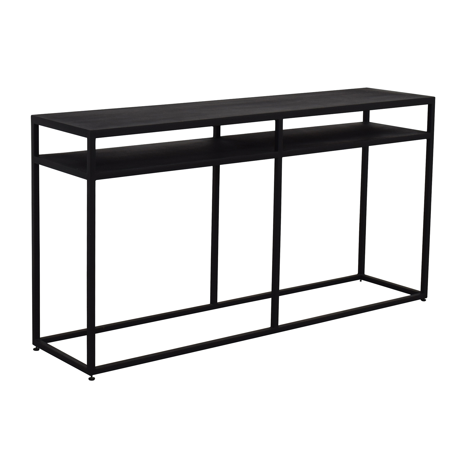 Pottery Barn Pottery Barn Tanner Iron TV Console for sale