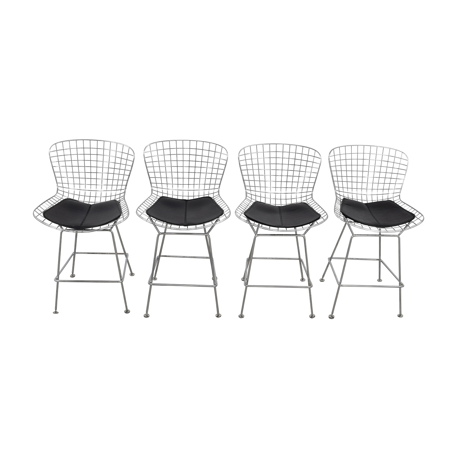 shop Wire Framed Bar Height Stools