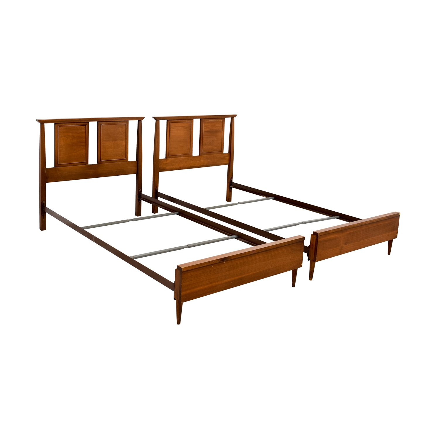seamans seamans twin bed frames used
