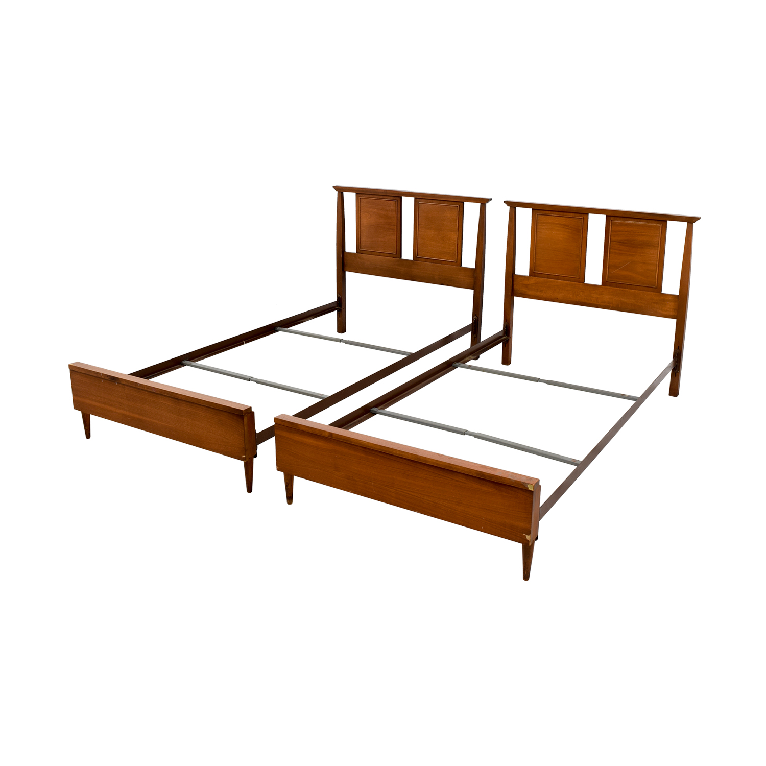 39 off seaman s seaman s twin bed frames beds Twin bed frames