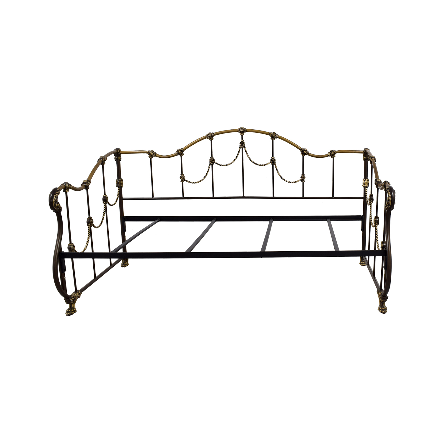 metal daybed. Perfect Metal Hamilton Metal Daybed Frame  Intended