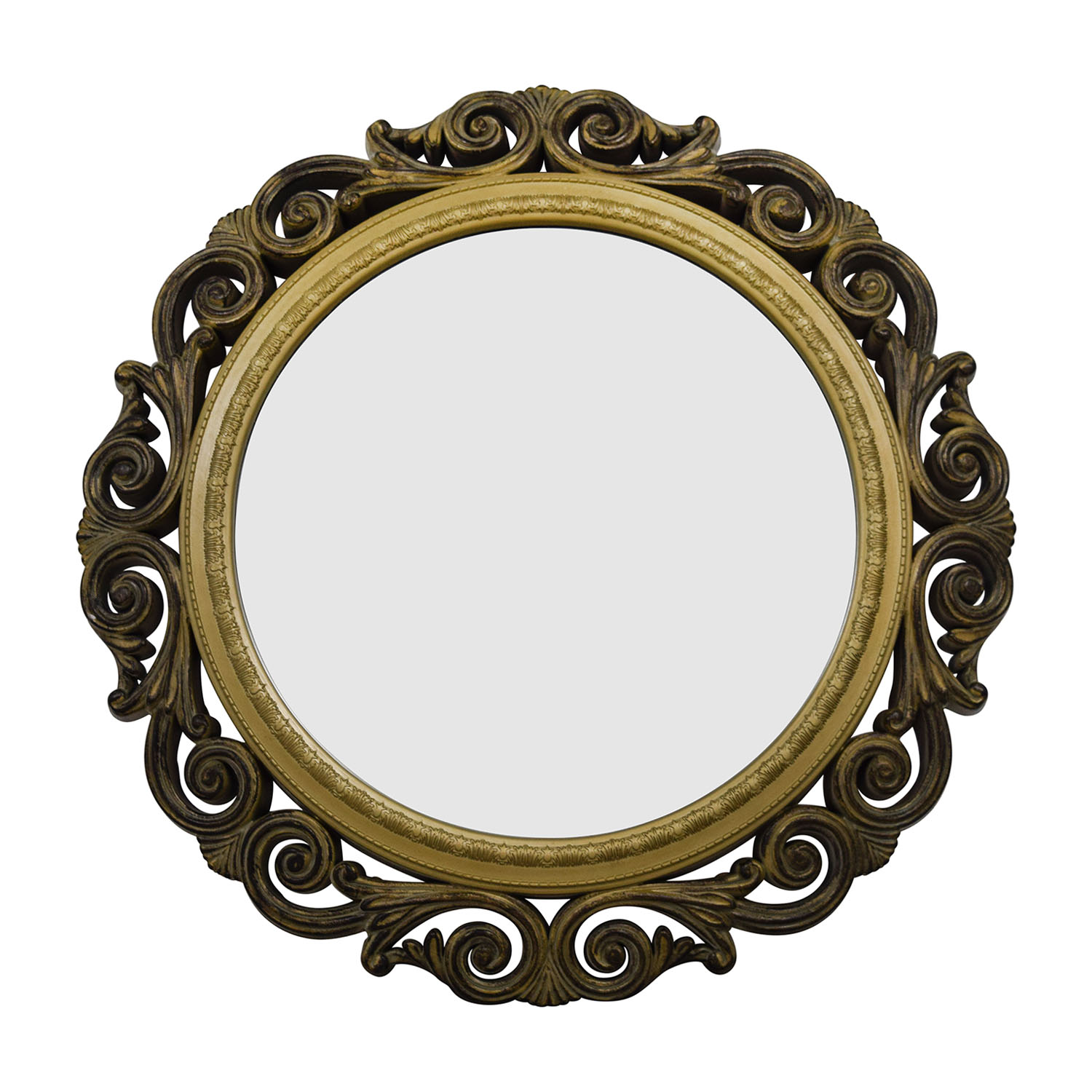 Gilded Round Wall Decor : Round picture frame image collections craft decoration ideas