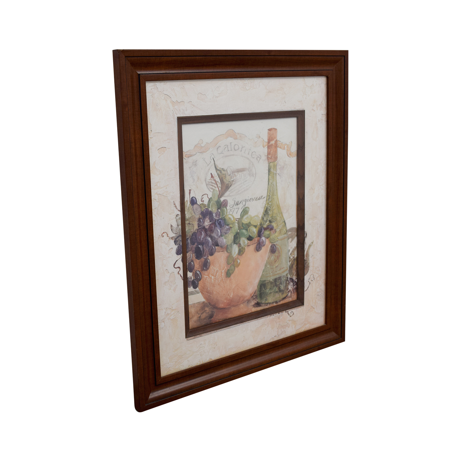 shop Fortunoff Wine and Grape Wall Art Fortunoff Decor