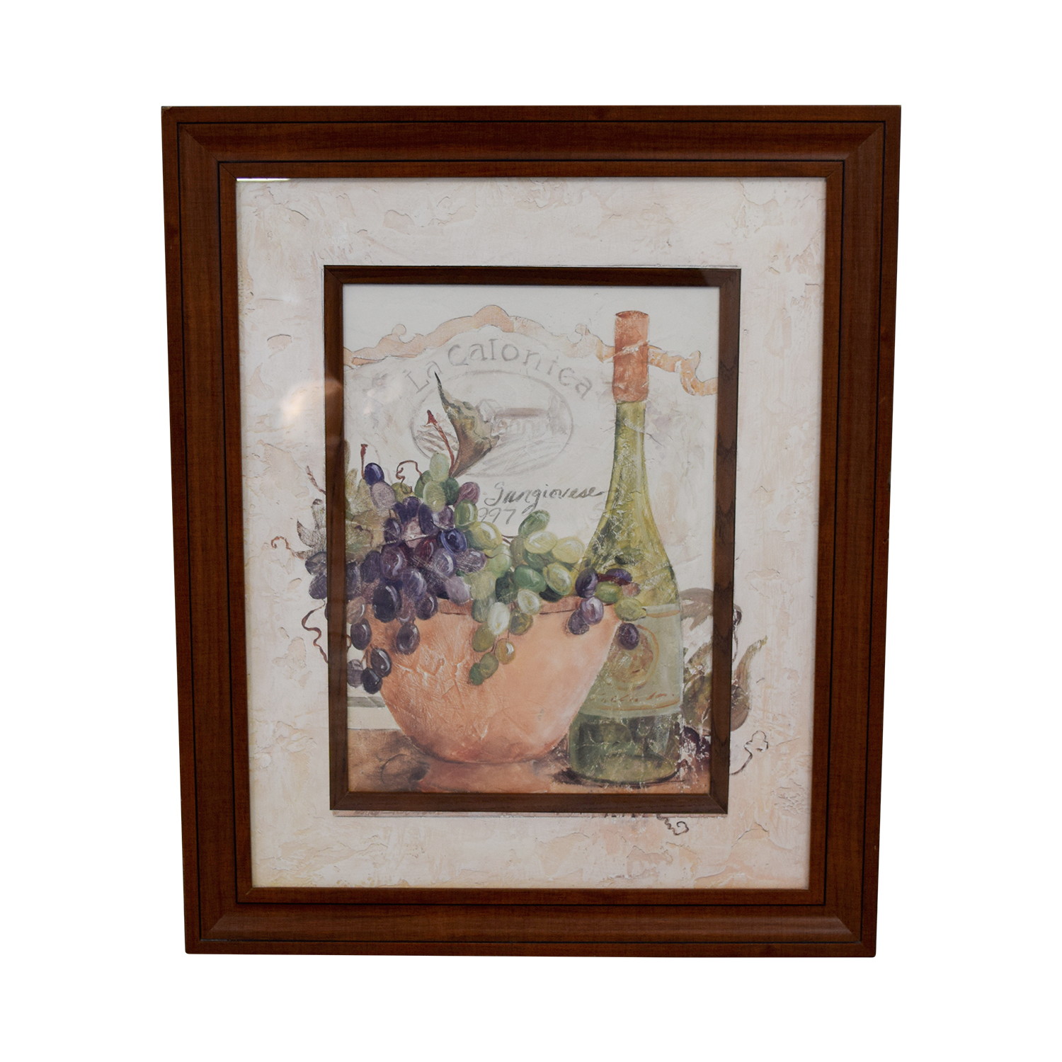 shop Fortunoff Fortunoff Wine and Grape Wall Art online