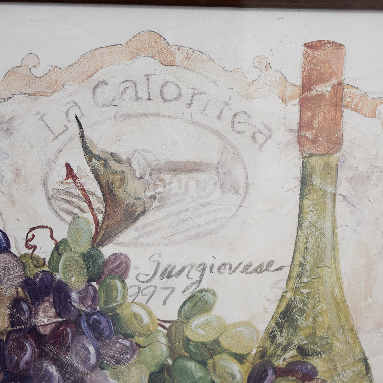 Fortunoff Fortunoff Wine and Grape Wall Art nj