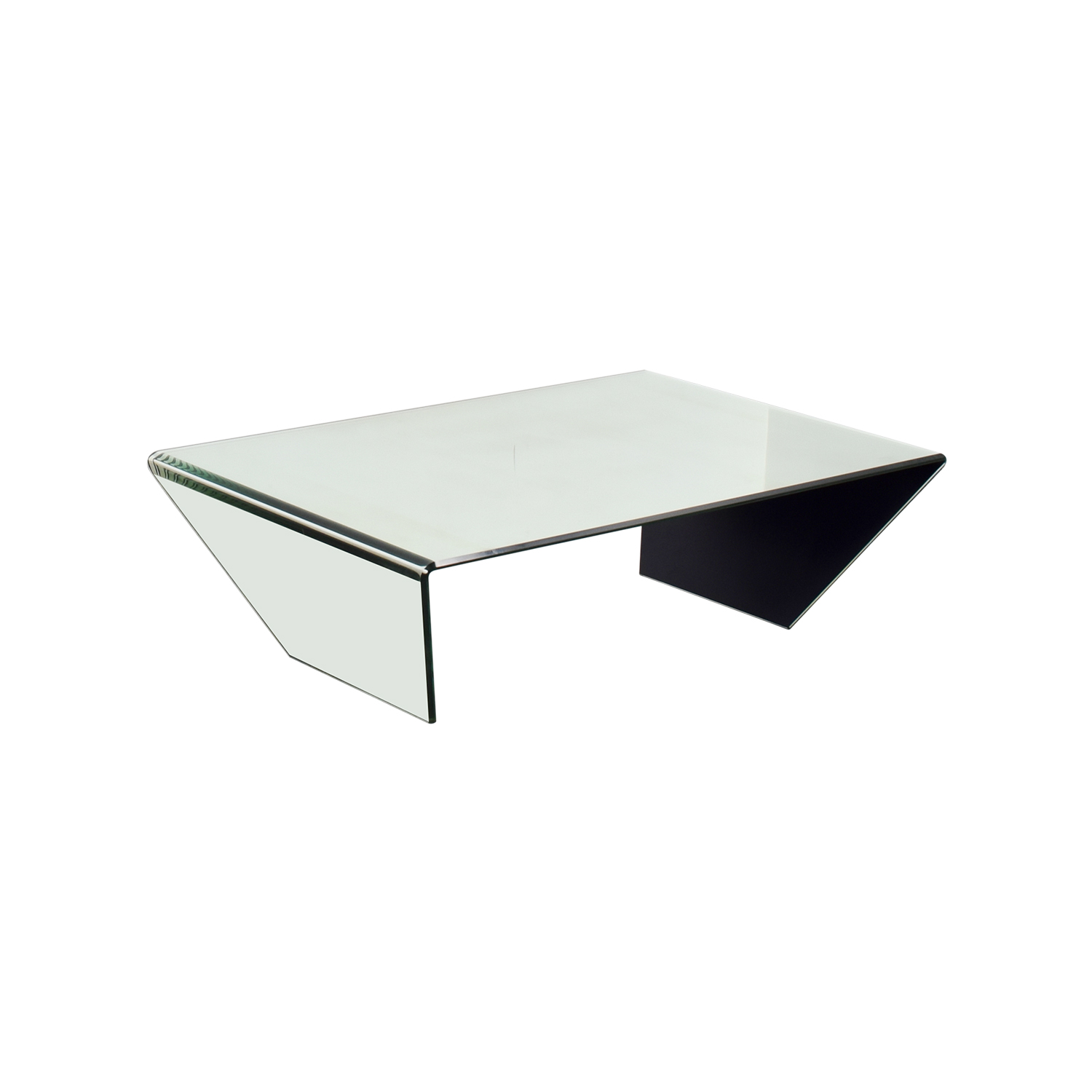 J & M Furniture J & M Furniture Bent Mirrired Glass Coffee Table price