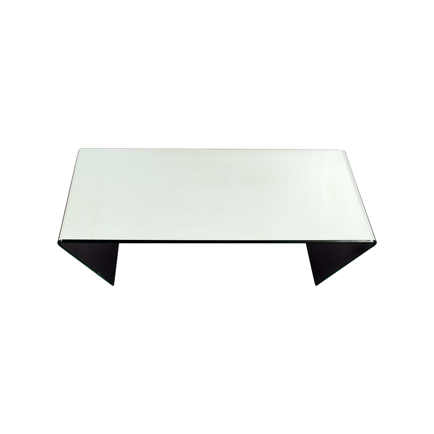 shop J & M Furniture Bent Mirrired Glass Coffee Table J & M Furniture Coffee Tables