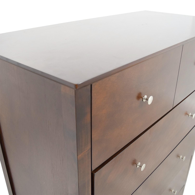 buy Bobs Furniture Five-Drawer Dresser Bobs Furniture Dressers