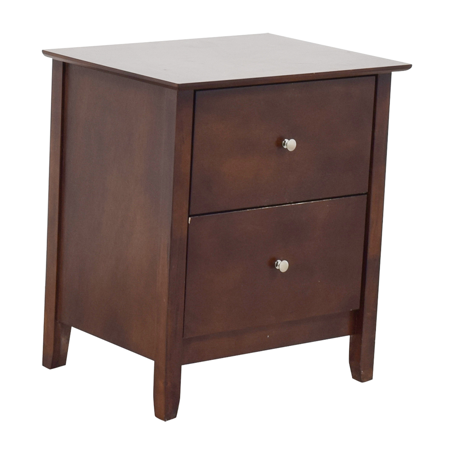 Bobs Discount Furniture Bobs Furniture Two-Drawer Nightstand nj