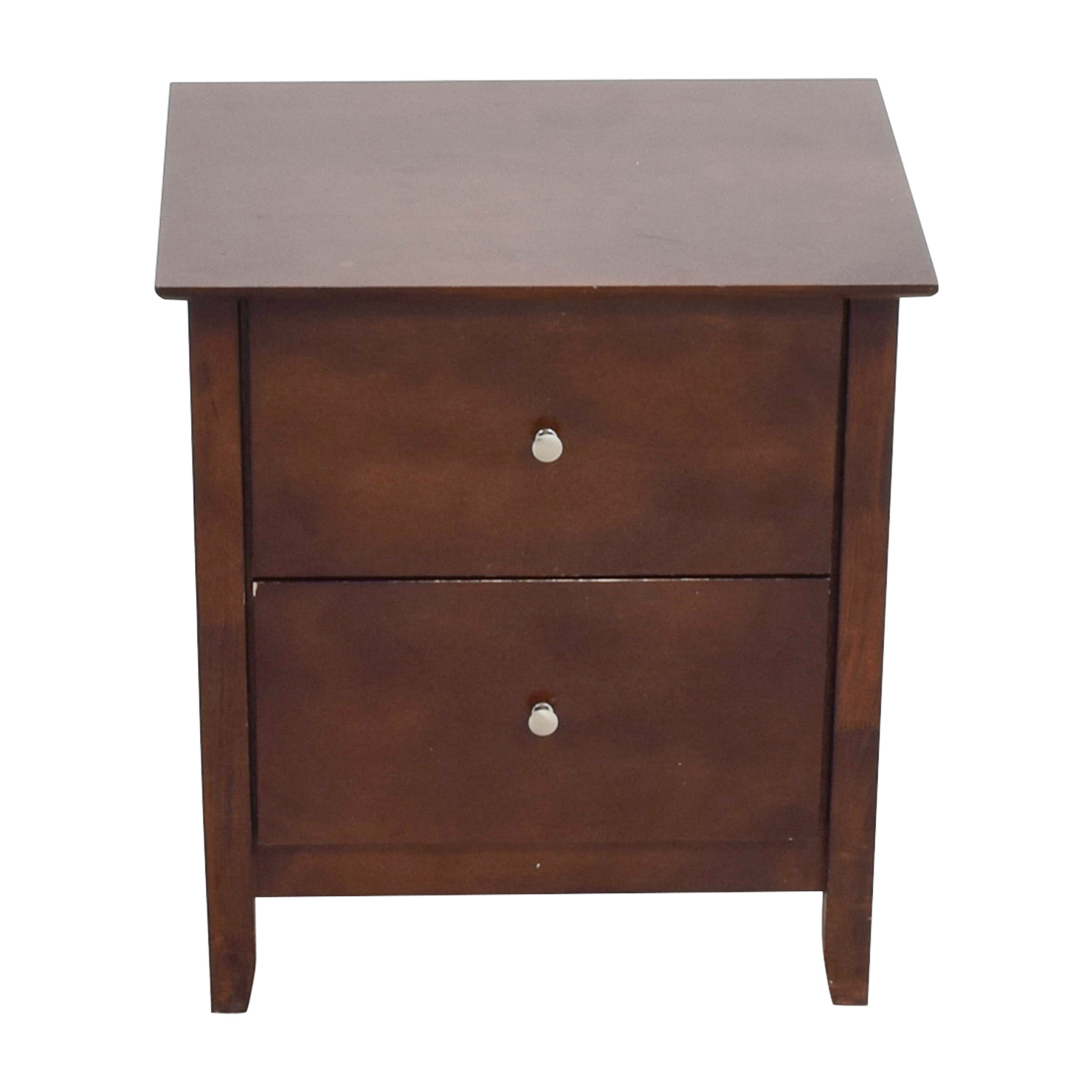 buy Bobs Furniture Two-Drawer Nightstand Bobs Discount Furniture Tables