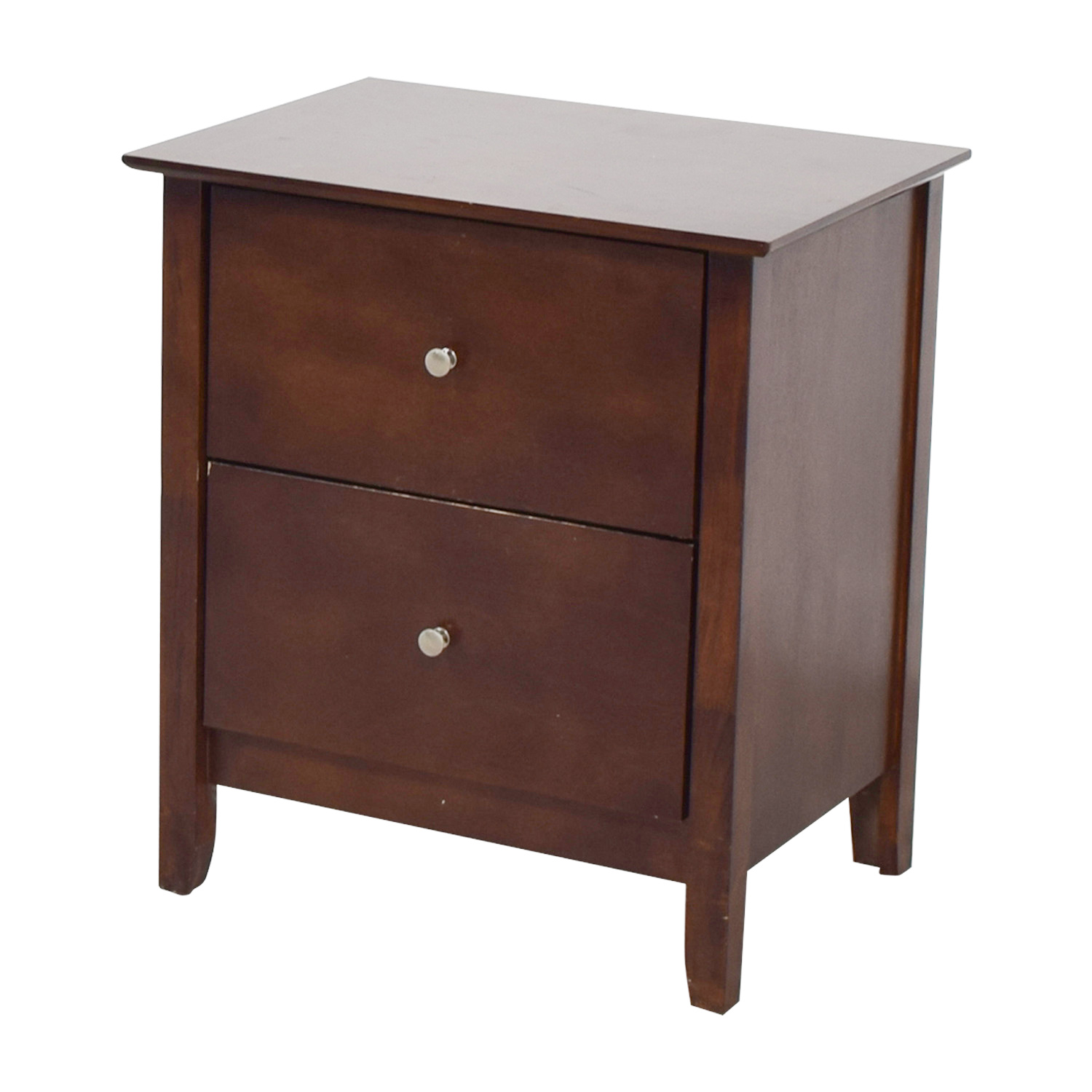 Bobs Discount Furniture Bobs Furniture Two-Drawer Nightstand End Tables