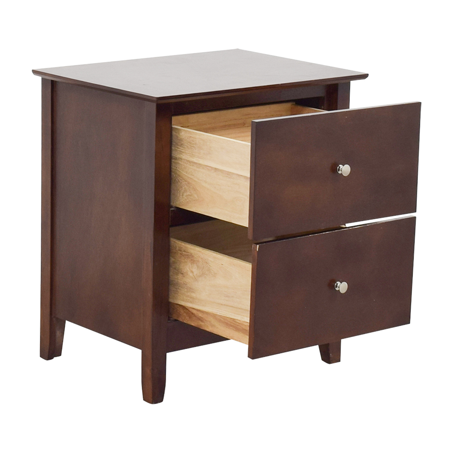 Bobs Discount Furniture Bobs Furniture Two-Drawer Nightstand