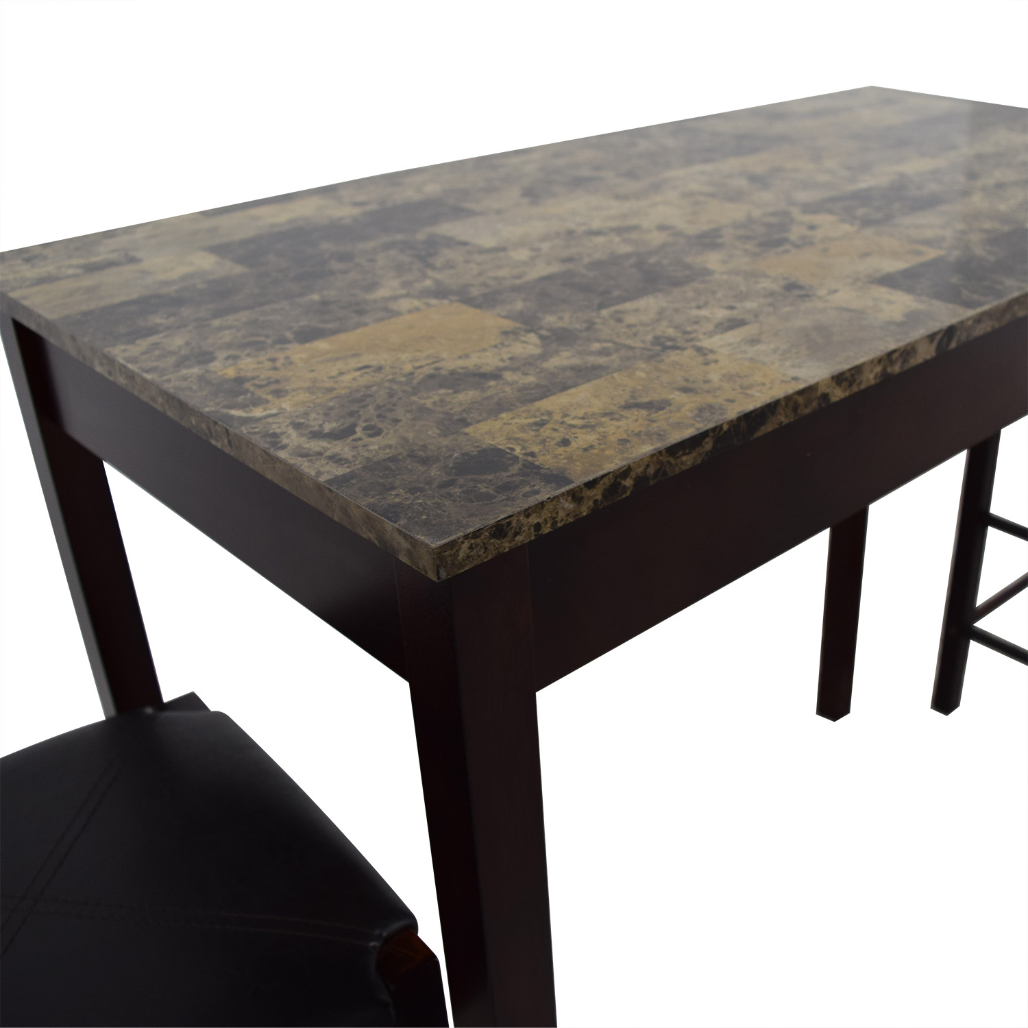 Linon Home Decor Linon Home Decor Tavern Marble Table and Stools for sale