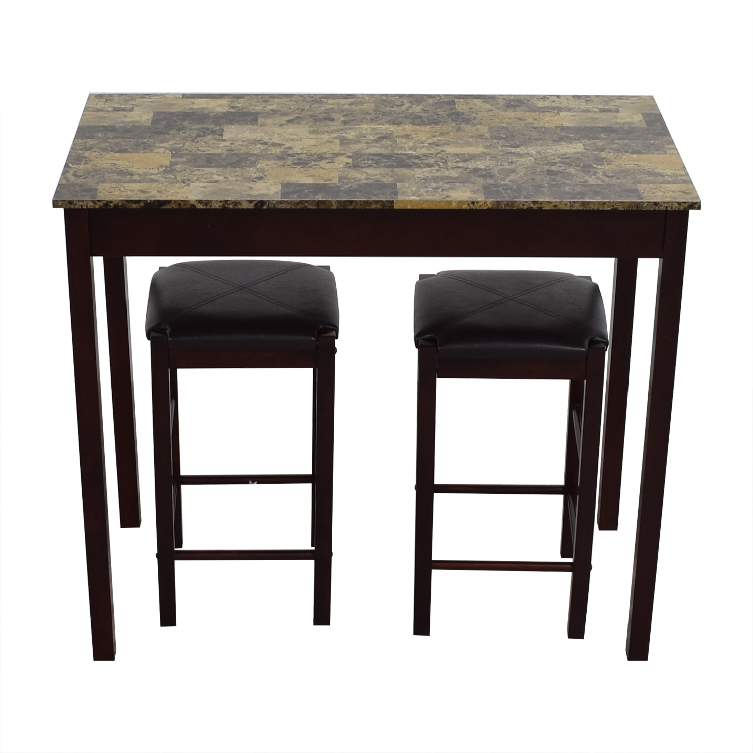 buy Linon Home Decor Tavern Marble Table and Stools Linon Home Decor Dining Sets