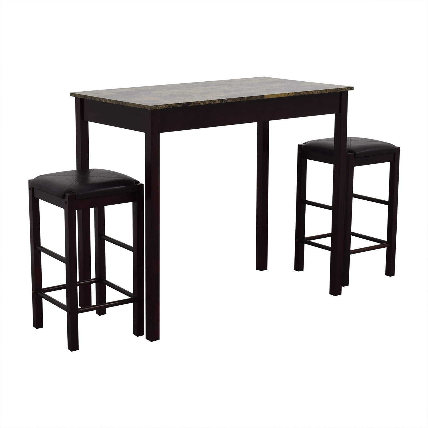 Linon Home Decor Tavern Marble Table And Stools Sale