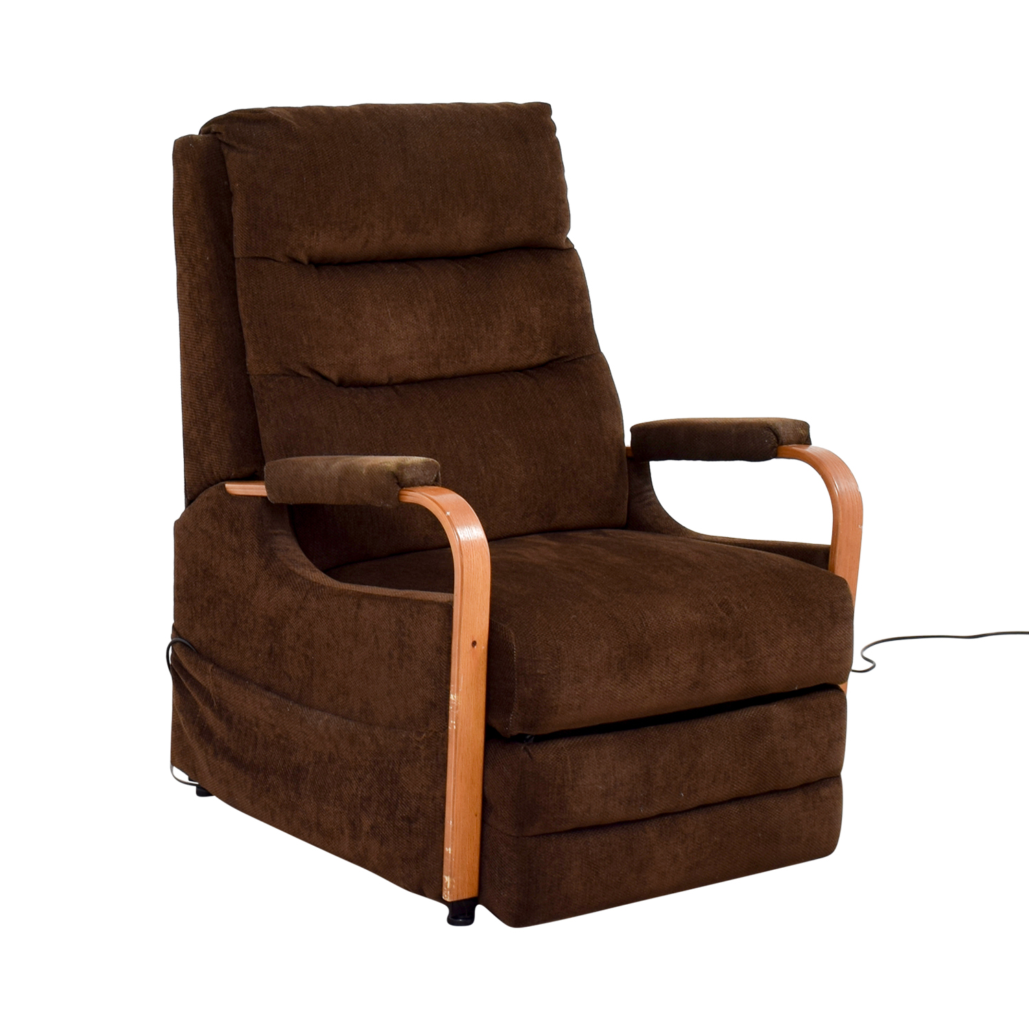 buy Bobs Furniture Brown Remote Control Recliner Bobs Furniture Recliners