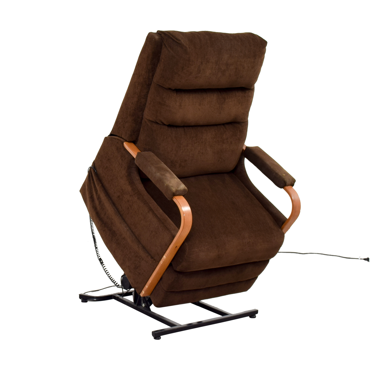 Bobs Furniture Bobs Furniture Brown Remote Control Recliner price