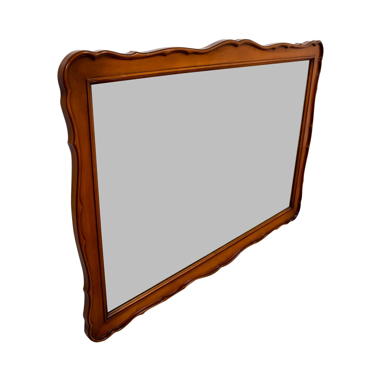White Fine Furniture White Fine Furniture Wood Framed Mirror dimensions