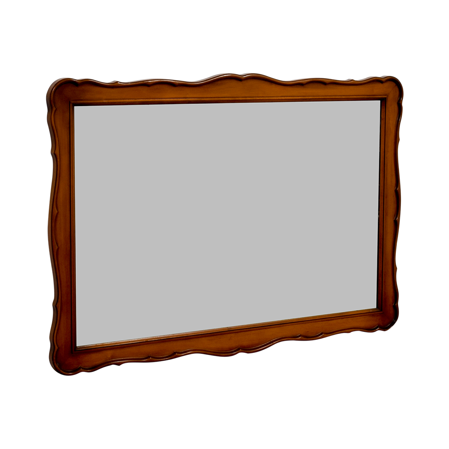 White Fine Furniture White Fine Furniture Wood Framed Mirror on sale