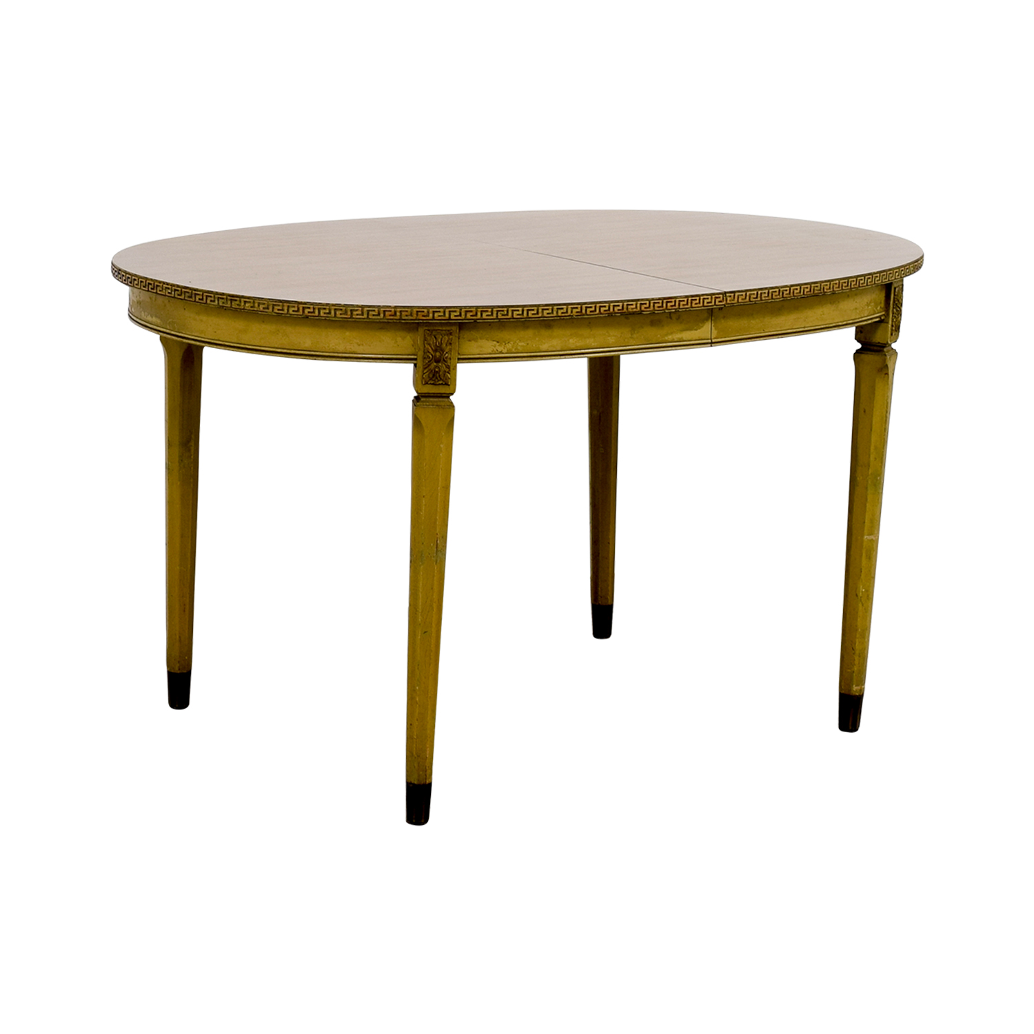 ... Buy Vintage Greek Key Dining Table With Two Leaves Dinner Tables ...