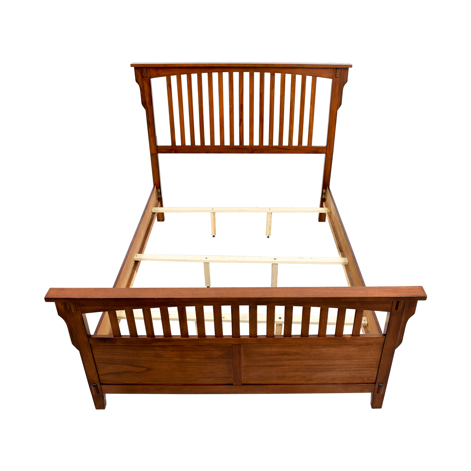 Caged Wooden Queen Bed Frame coupon