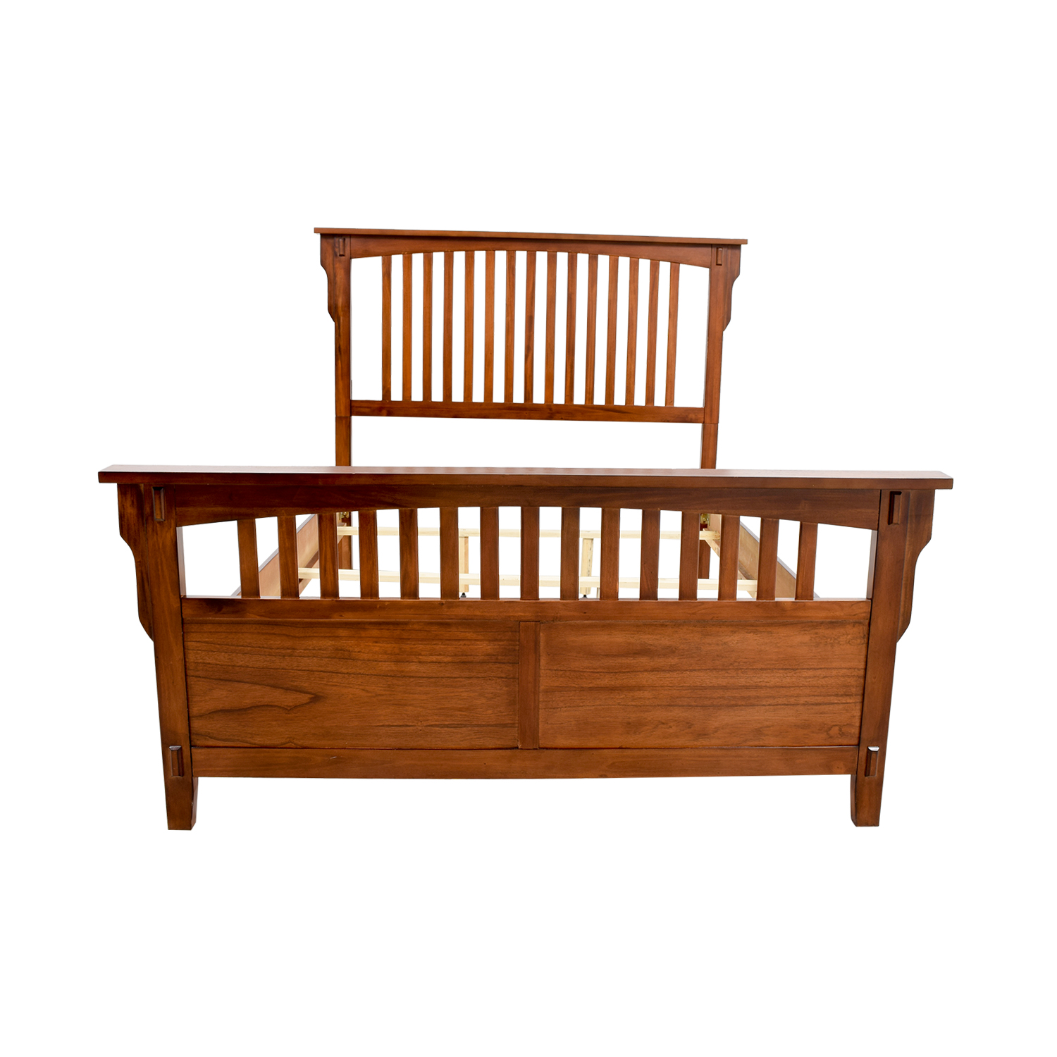 Caged Wooden Queen Bed Frame dimensions
