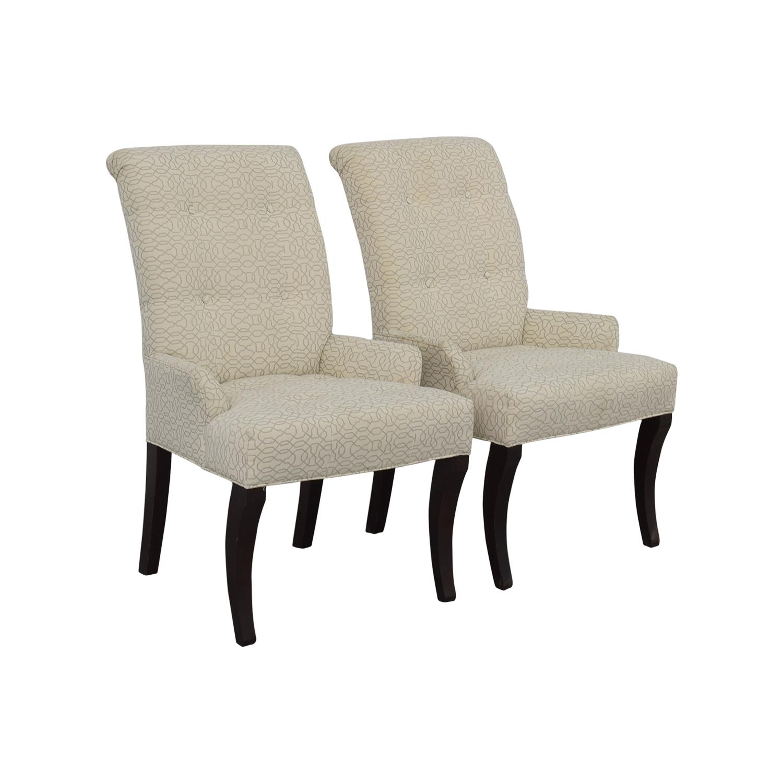 Ethan Allen Ethan Allen Jaqueline White Accent Chair nyc