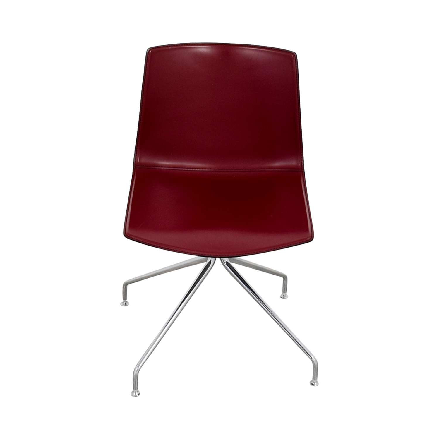 Arper Arper Catifa 53 Burgundy Leather Armchair coupon