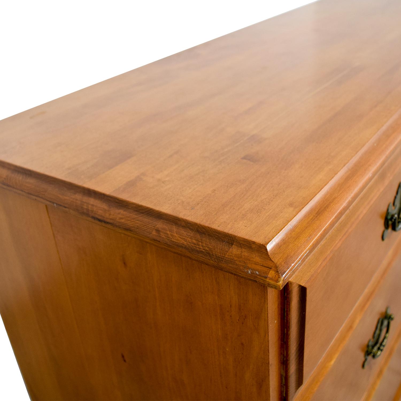 Vilas Vilas Solid Oak Bedroom Nine-Drawer Dresser nj