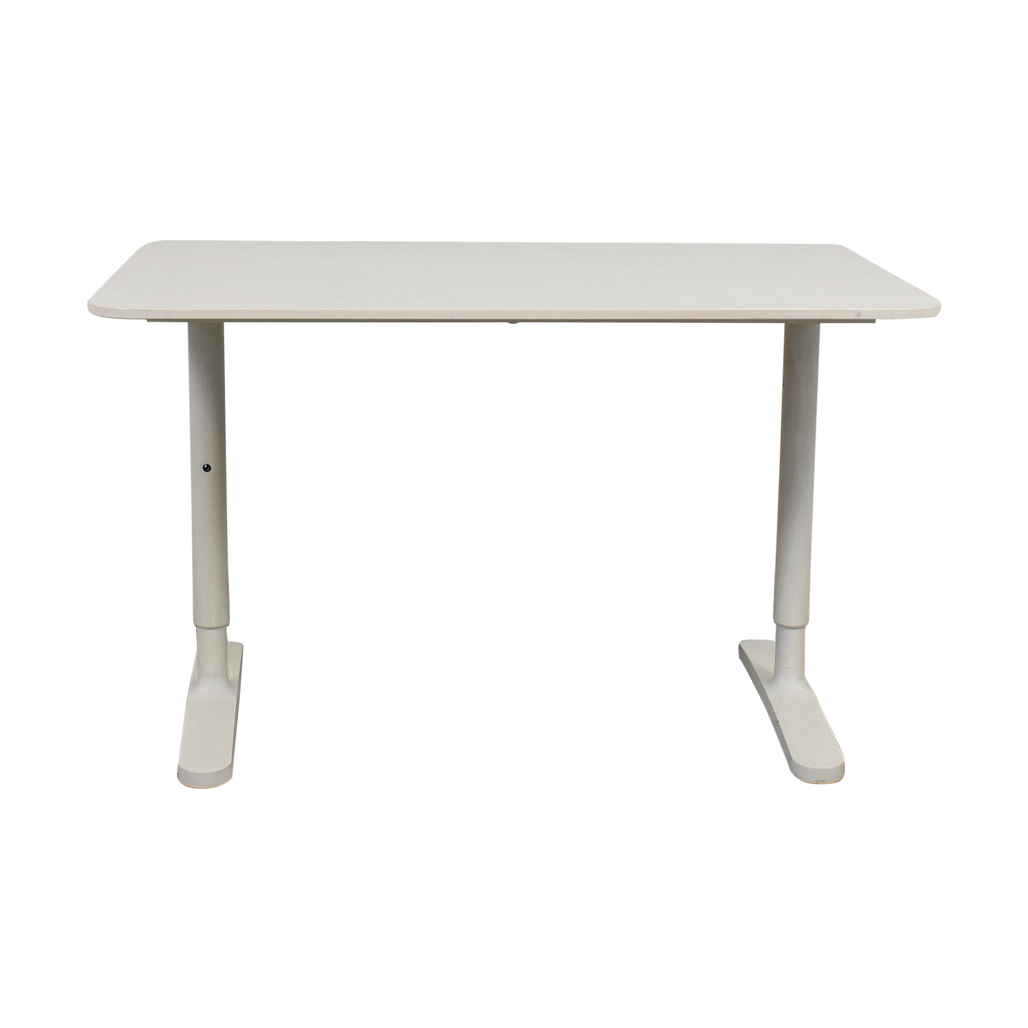 Ikea Bekant White Desk Tables