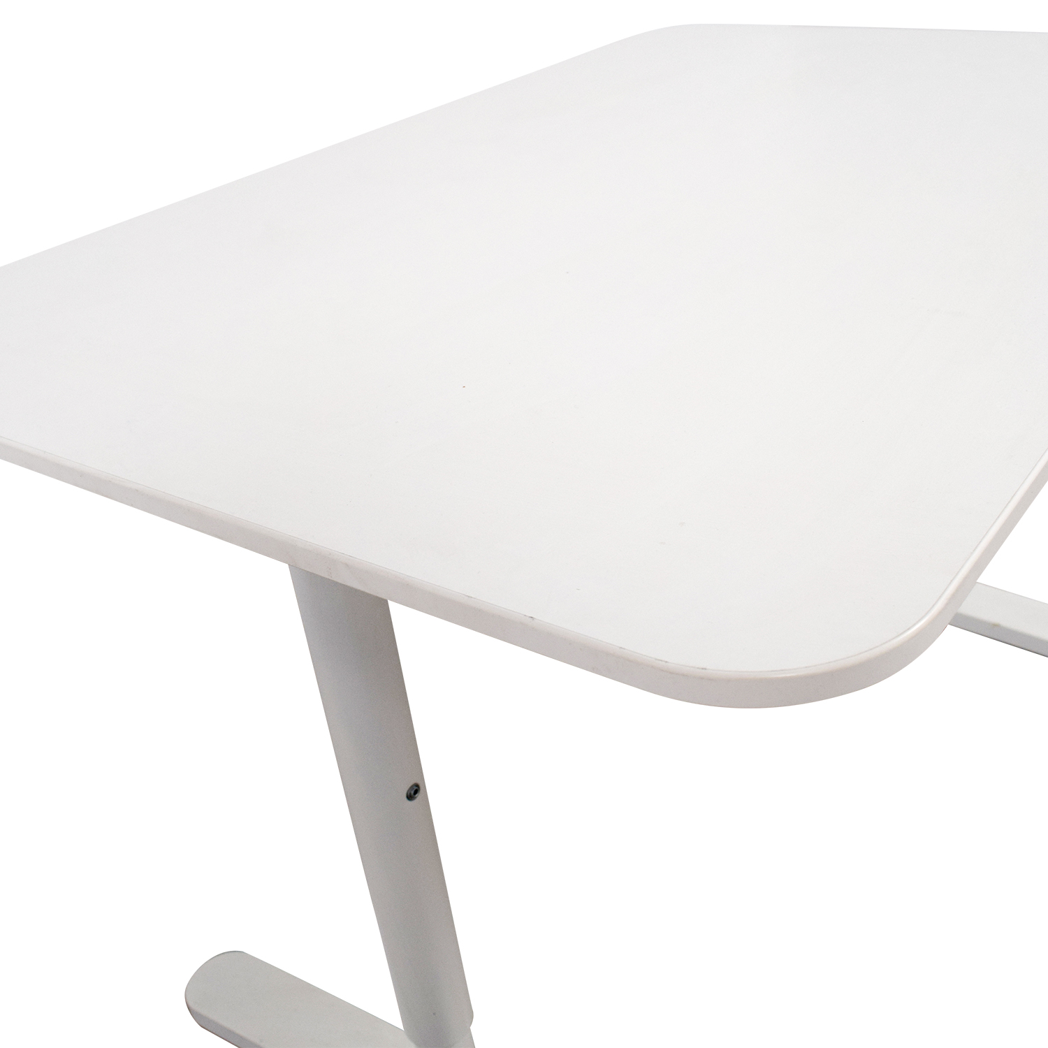 84 Off Ikea Ikea Bekant White Desk Tables